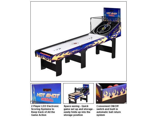Hot Shot Skeeball Table by Carmelli