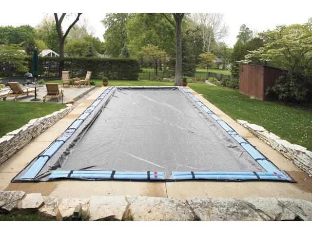 Winter Pool Cover In Ground 20X40 Ft Rect. Arctic Armor 20 Yr Warranty
