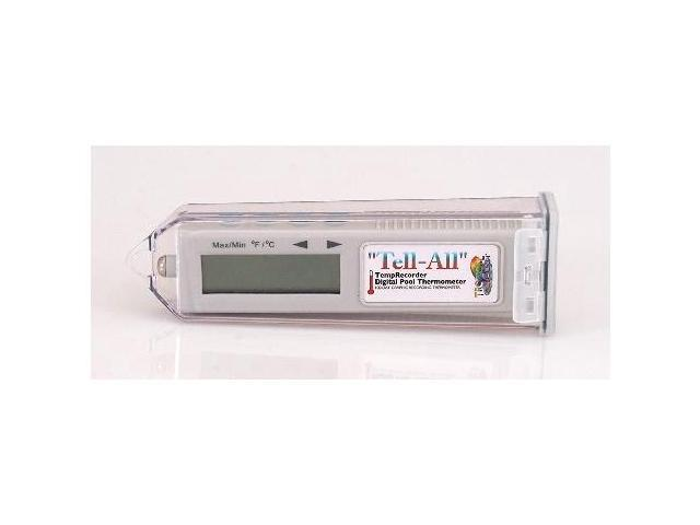 Digital Thermometer, Clock & Calendar-Daily Temperature Monitoring & Recording