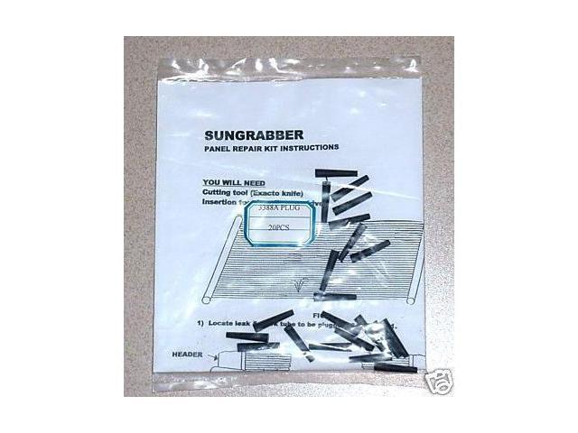 Sungrabber Repair Plugs (20) for Solar Swimming Pool Heating Panels