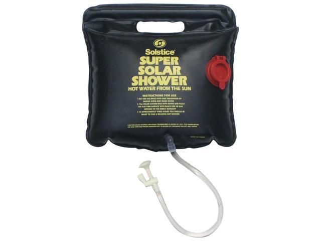 Solstice 2.5 Gallon Hanging Super Solar Shower - hot water from the sun