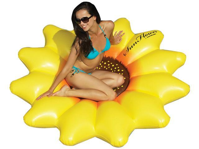 Giant SunFlower Floating Lounger for Swimming Pool