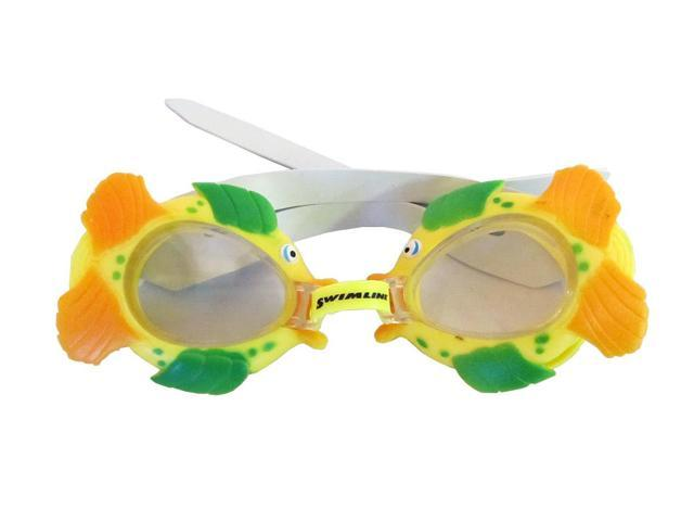 Sea Pals Kids Goggles for Swimming Pool - Fish Style