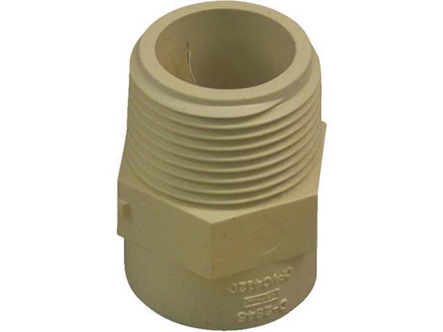 Genova Products 1in. CPVC Male Adapter  50410 - Pack of 10
