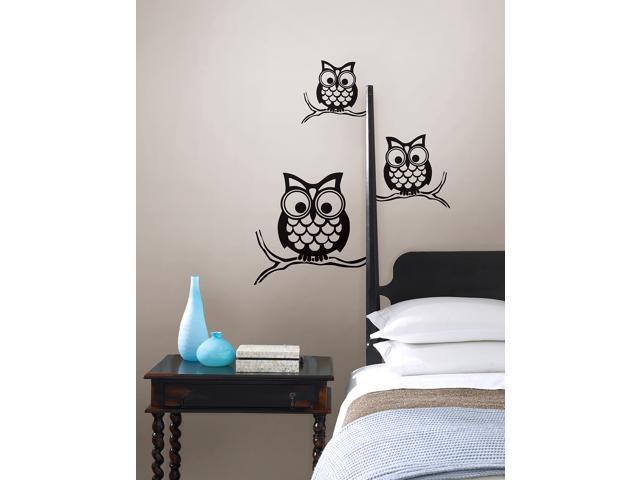 Give A Hoot Small Wall Art Kit
