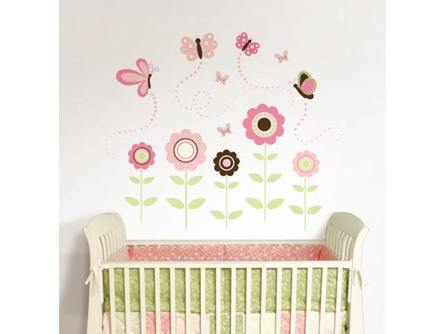 Butterfly Garden Large Wall Art Kit