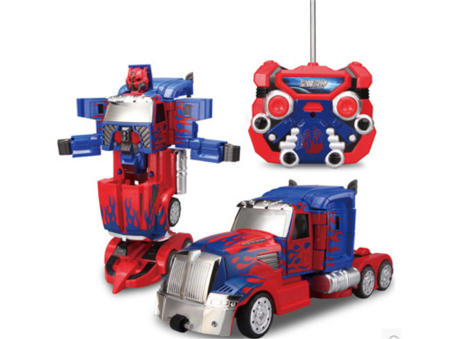New Fashion Transformers Robot Remote Control Car Vehicle Toy Gift