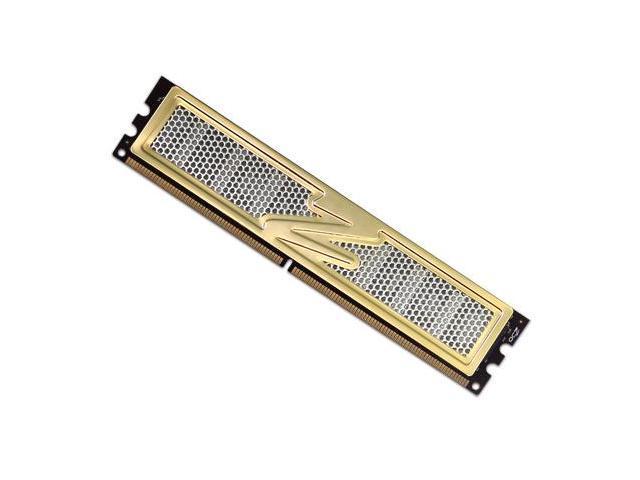 OCZ Storage Solutions Gold Edition GX XTC 1GB DDR-400MHz PC-3200 184-pin  Non-ECC Unbuffered Desktop Memory Module