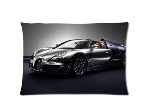 bugatti veyron ettore bugatti legend edition pillowcases custom pillow case cushion cover 20 x. Black Bedroom Furniture Sets. Home Design Ideas