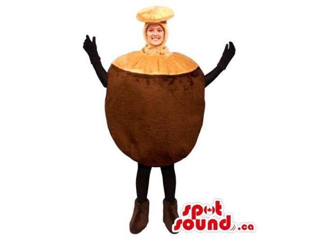 Original Customised Chestnut Canadian SpotSound Mascot Or Adult Costume