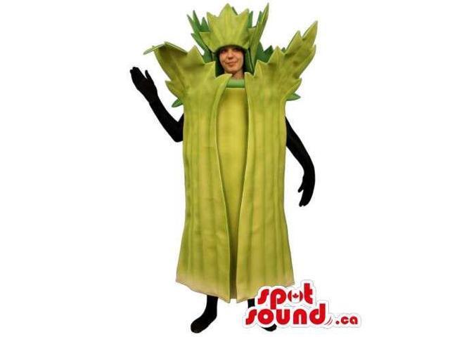 Original Customised Lettuce Or Leak Canadian SpotSound Mascot Or Adult Costume