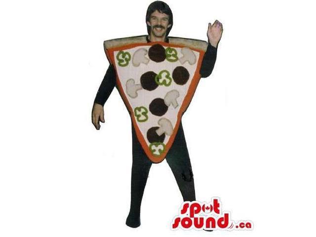 Original Customised Pizza Slice Canadian SpotSound Mascot Or Adult Costume