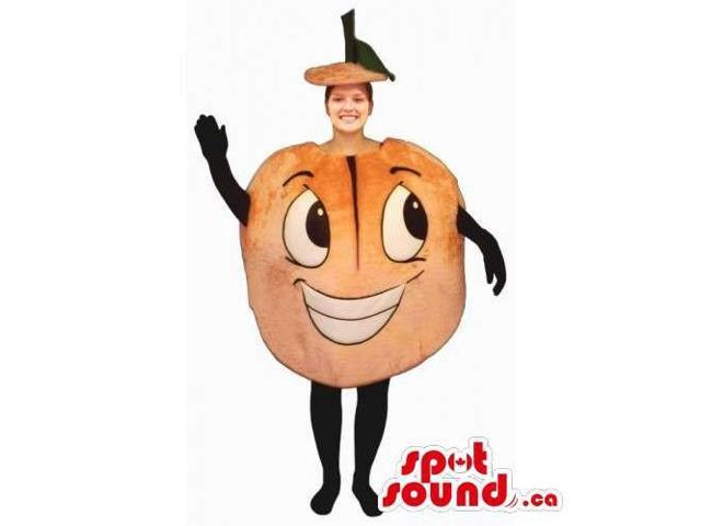 Original Customised Peculiar Orange Canadian SpotSound Mascot Or Adult Costume