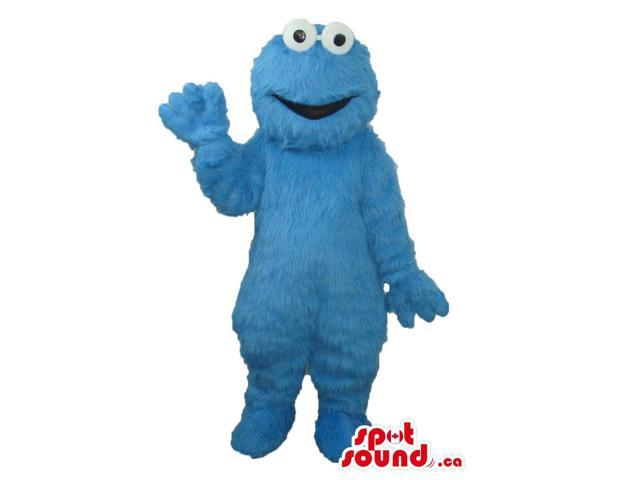 Well-Known Sesame Street Cookie Monster Character Canadian SpotSound Mascot