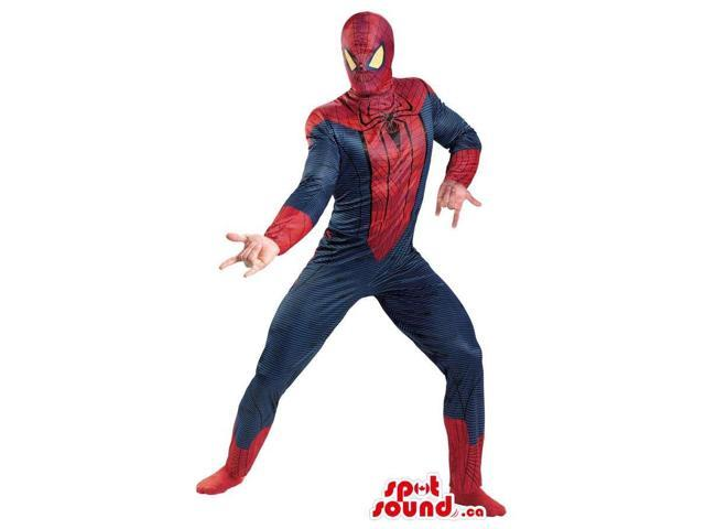 Spiderman Superhero Comic Cartoon Character Costume