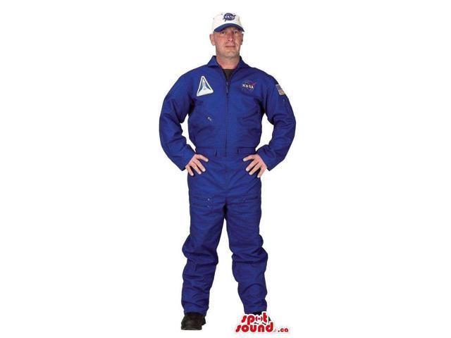 Very Original Blue Nasa Uniform Adult Size Costume