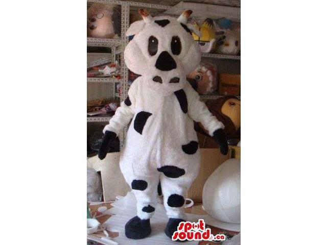 Customised Cute Cow Animal Plush Character Canadian SpotSound Mascot