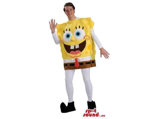 Very Original Sponge Bob Cartoon Adult Size Peculiar Costume