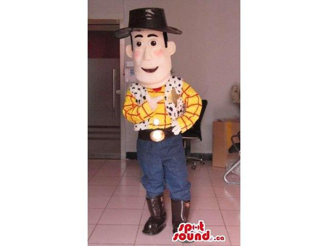 Toy Story Animation Movie Woody Cowboy Character Canadian SpotSound Mascot