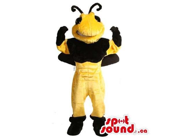 Customised All Bee Canadian SpotSound Mascot Without Many Stripes