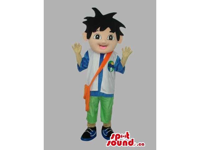 Dora The Explorer Cartoon Series Main Boy Character