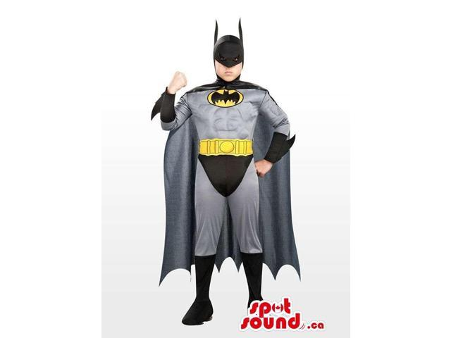Cool And Strong Batman Children Size Plush Costume