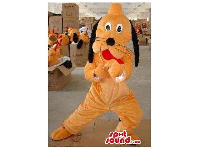 Well-Known Pluto The Dog Animal Cartoon Disney Character Canadian SpotSound Mascot