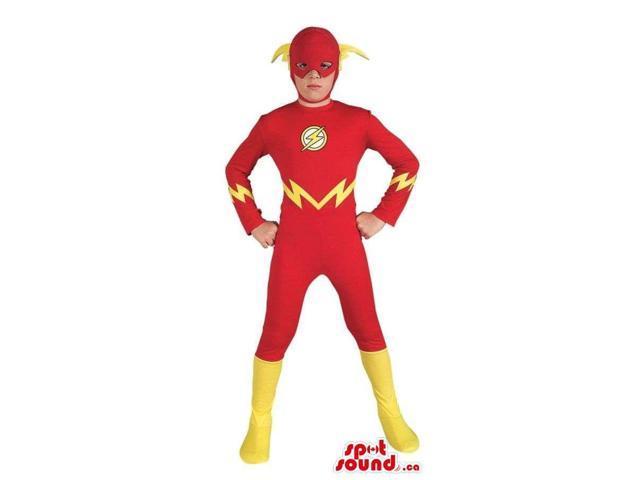 Cute Flash Gordon Super Hero Character Children Size Costume
