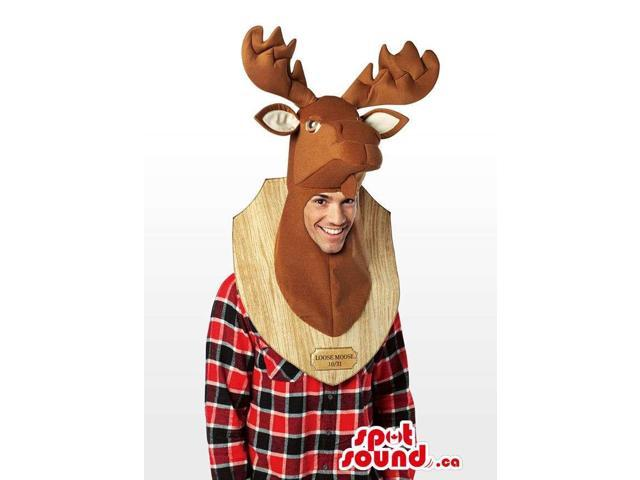 Real-Looking Deer Taxidermy Trophy Adult Size Costume