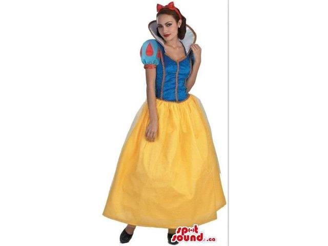 Snow White Adult Girl Beautiful Costume Halloween Disguise