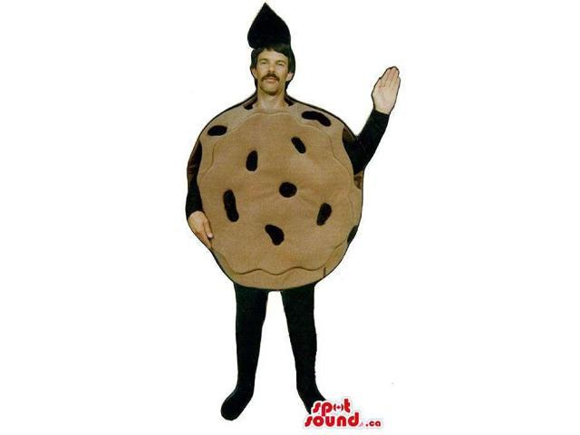 Chocolate Chip Cookie Snack Food Canadian SpotSound Mascot Or Disguise