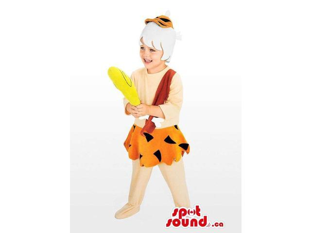 Well-Known The Flintstone'S Cartoon Character Children Size Costume