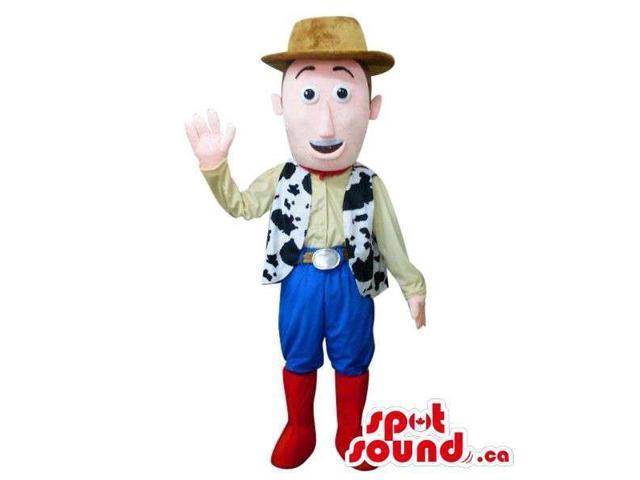 Cute Woody Cowboy Toy Story Character Plush Canadian SpotSound Mascot