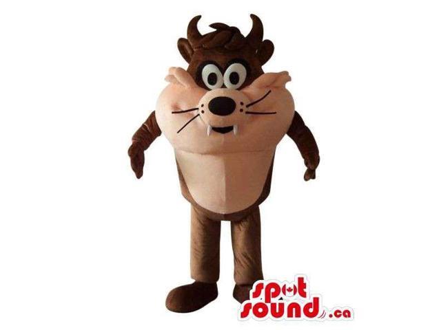 Well-Known Taz Alike Tazmania Cartoon Character Plush Canadian SpotSound Mascot