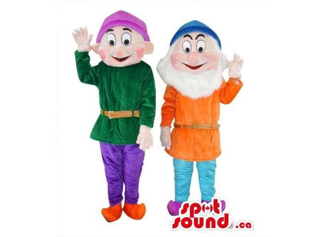 Well-Known Snow White Dwarfs Tale Character Plush Canadian SpotSound Mascots