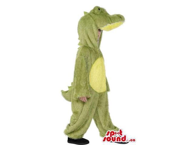 Cute Halloween Alligator Children Size Plush Costume Disguise