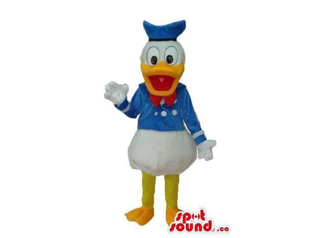 Donald Duck Disney Character Plush Canadian SpotSound Mascot With Standard Clothes