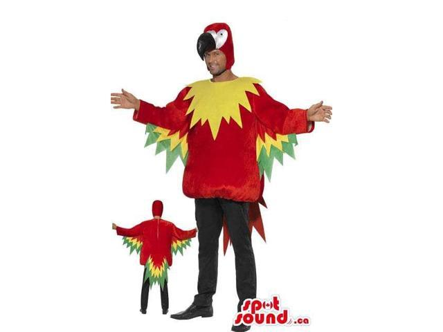 Awesome Large Parrot Adult Size Costume Or Plush Canadian SpotSound Mascot