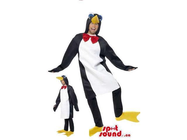 Awesome Large Penguin Adult Size Costume Or Plush Canadian SpotSound Mascot