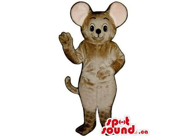 Customised All Grey Mouse Animal Plush Canadian SpotSound Mascot