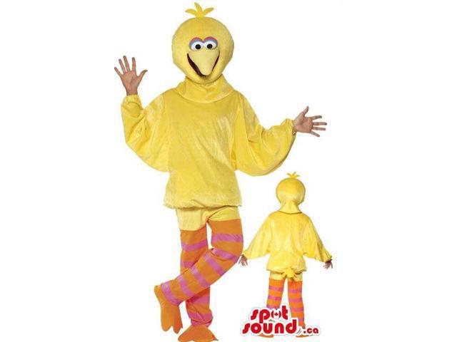 Large Bird Sesame Street Character Adult Size Costume