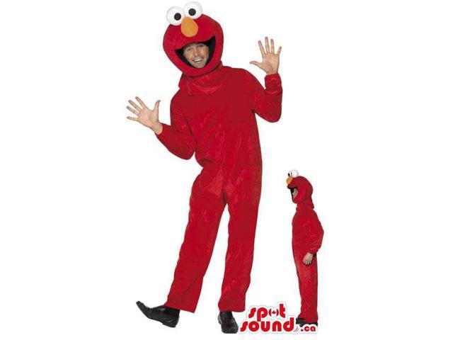Elmo Sesame Street Character Adult Size Costume Or Canadian SpotSound Mascot