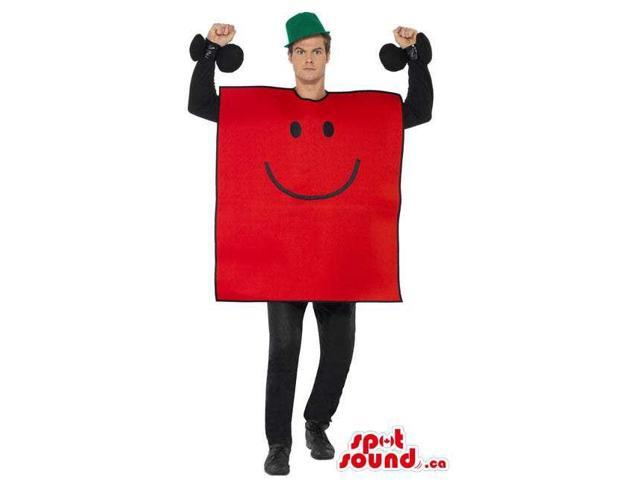 Mr. Strong Character Adult Size Costume Or Plush Canadian SpotSound Mascot