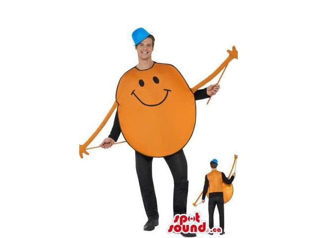 Mr. Tickle Character Adult Size Costume Or Plush Canadian SpotSound Mascot