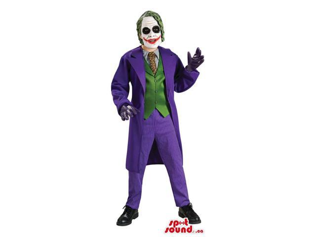 Great Joker Batman Movie Character Adult Size Costume