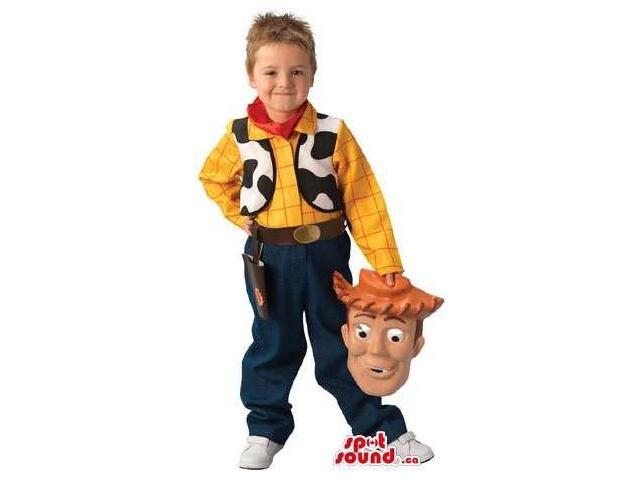 Cute Woody Form Toy Story Movie Children Size Costume