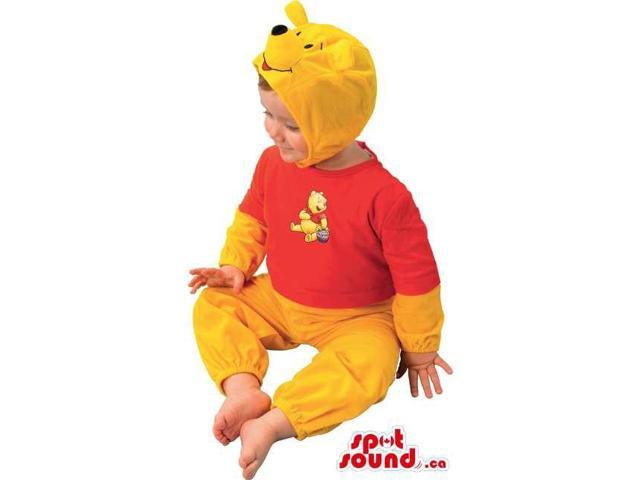 Cute Winnie The Pooh Bear Children Size Costume Or Disguise