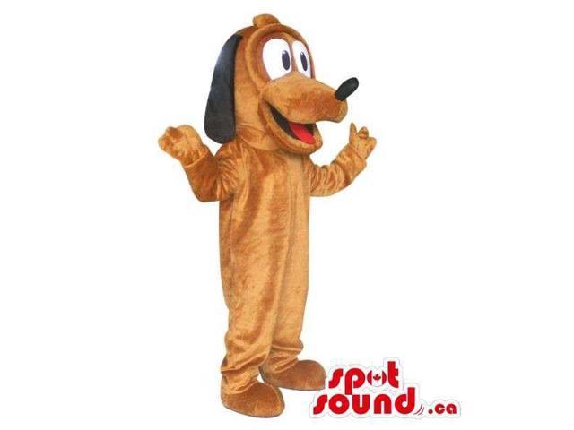 Well-Known Pluto Dog Disney Cartoon Character Plush Canadian SpotSound Mascot
