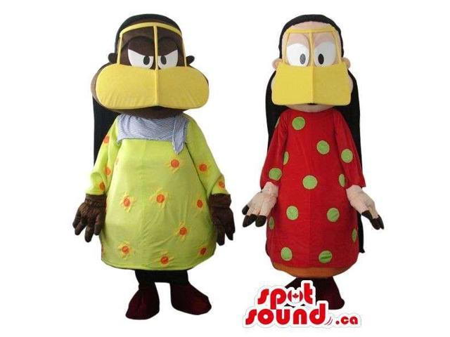 Peculiar Girl Plush Canadian SpotSound Mascots Dressed In A Duck Disguise