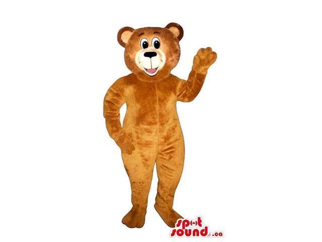 Customised Cute Standard Brown Teddy Bear Toy Plush Canadian SpotSound Mascot